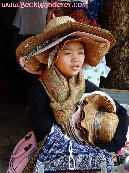 Angkor Wat Hat Seller