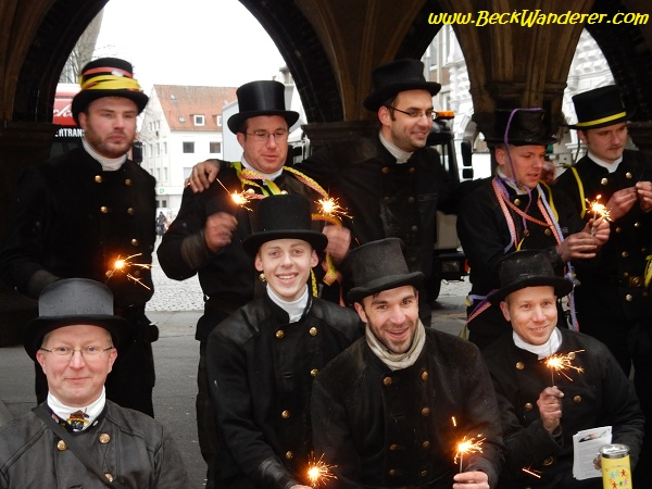 Chimney Sweepers in Lubeck, Germany