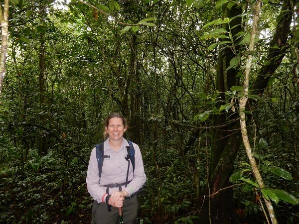 Me in the jungle, Queen Elizabeth National Park