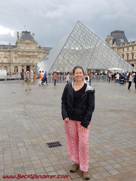 Me at the Lourve in Paris