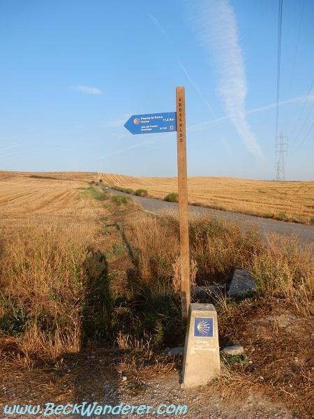 Camino Sign Post