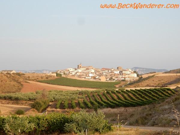 The village of Cirauqui