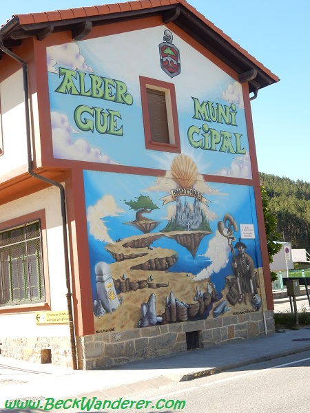 The Albergue Municipal, Zubiri
